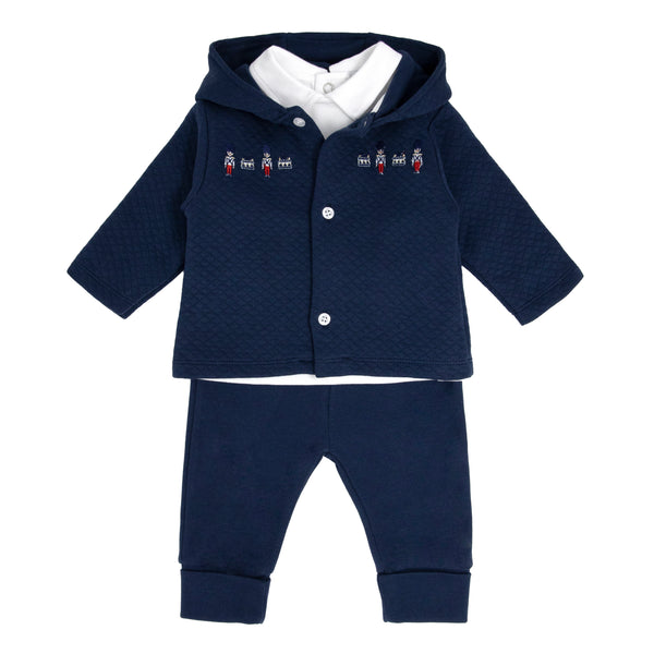 SS21 BLUES BABY 3 PIECE SOLDIER SET