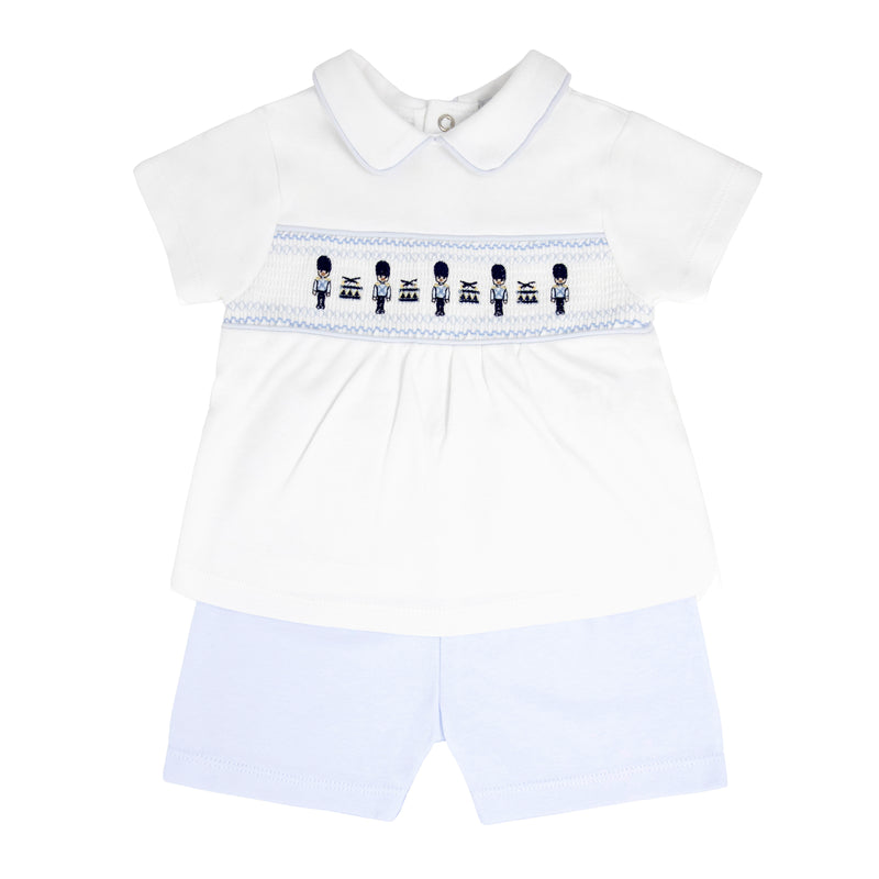 SS21 Blues Baby soldier short set