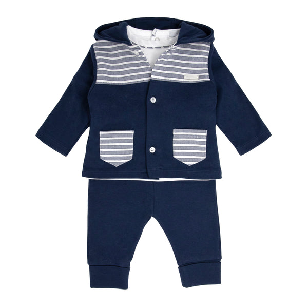 SS21 BLUES BABY 3 PIECE JOGSET
