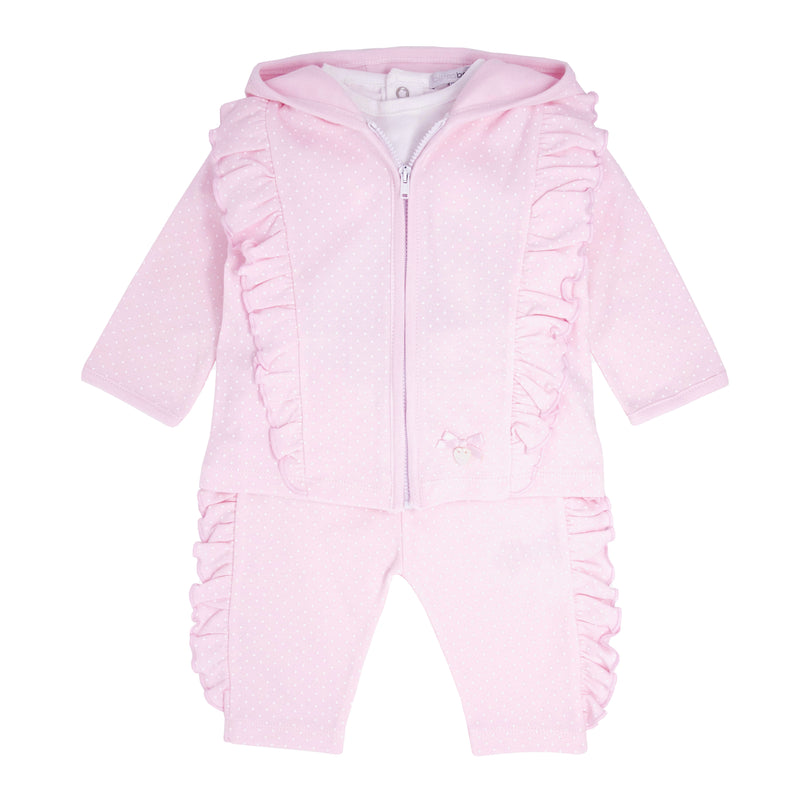 SS21 Blues Baby zip through tracksuit