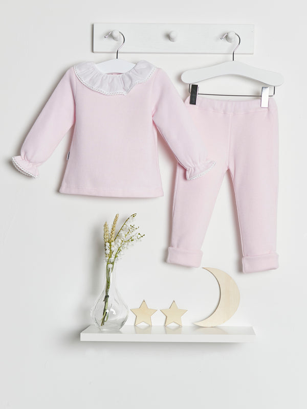 Babidu Frill Collar 2 piece set - Rose & Albert