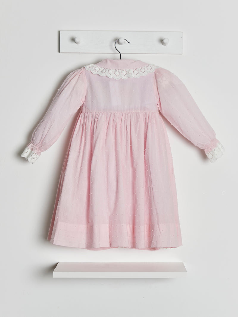 Caramelo kids hand smocked dressing gown & nightdress set - Rose & Albert