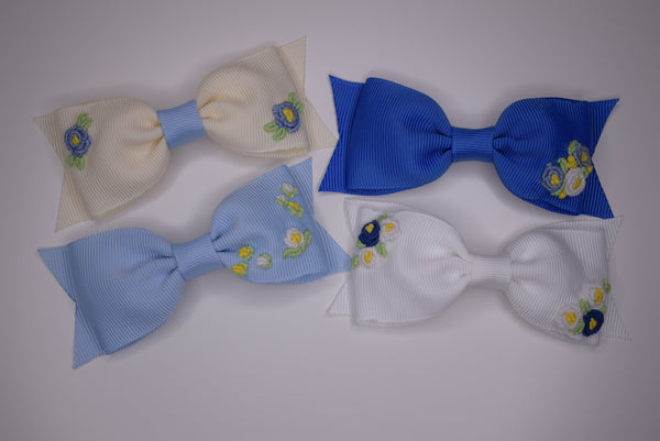 Princess Charlotte bow in collaboration with Bloom & bow - Rose & Albert