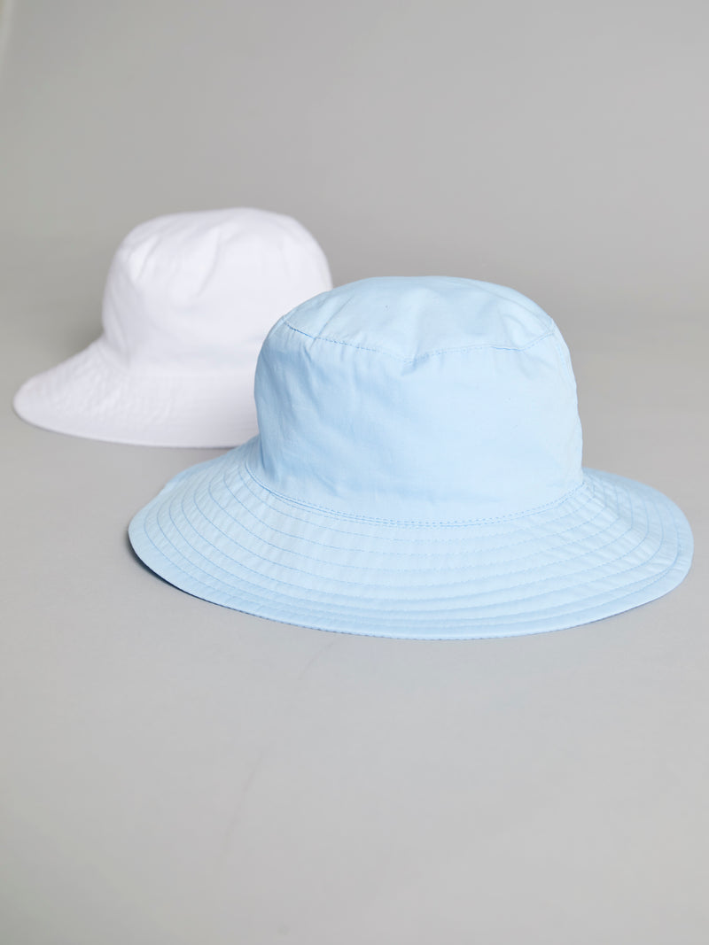 Wide brim cotton summer hat - Rose & Albert