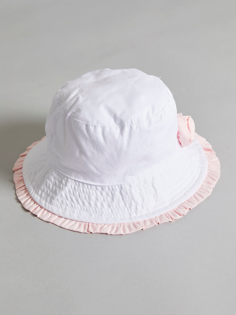 Flower detail summer hat - Rose & Albert