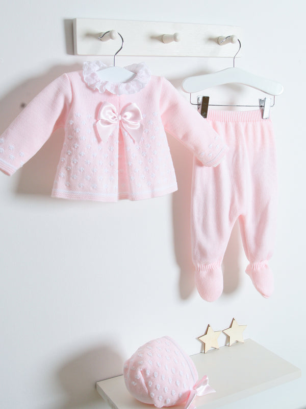 Sardon 3 piece knitted set