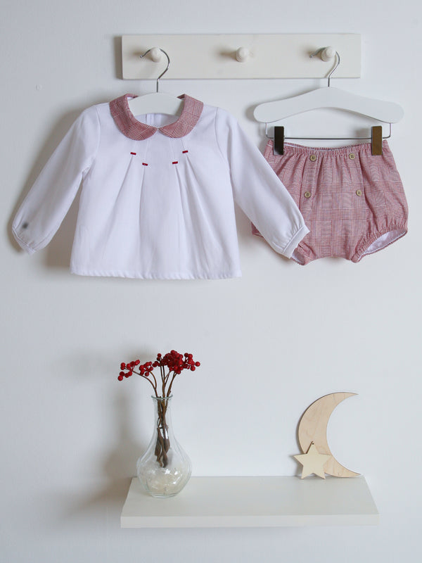 Babidu Check jam pant set
