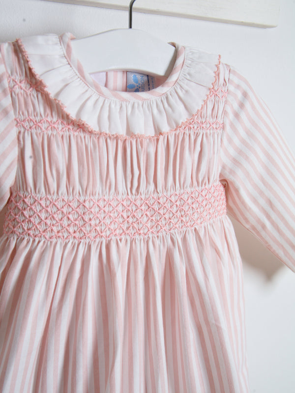 Sardon Smocked striped dress