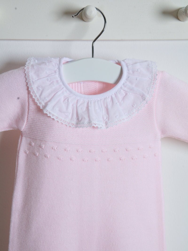 Granlei knitted all in one - pink
