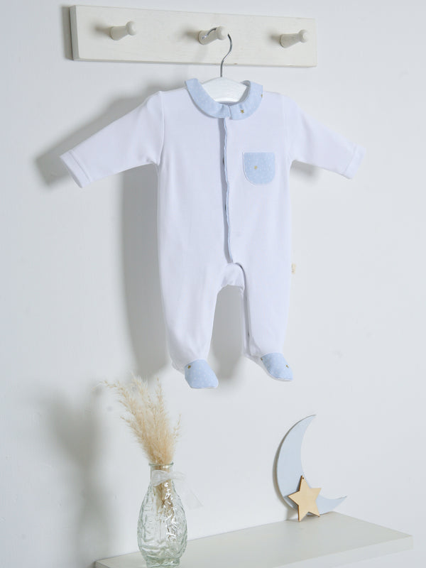 SS21 Babygi Dreams White Sleepsuit