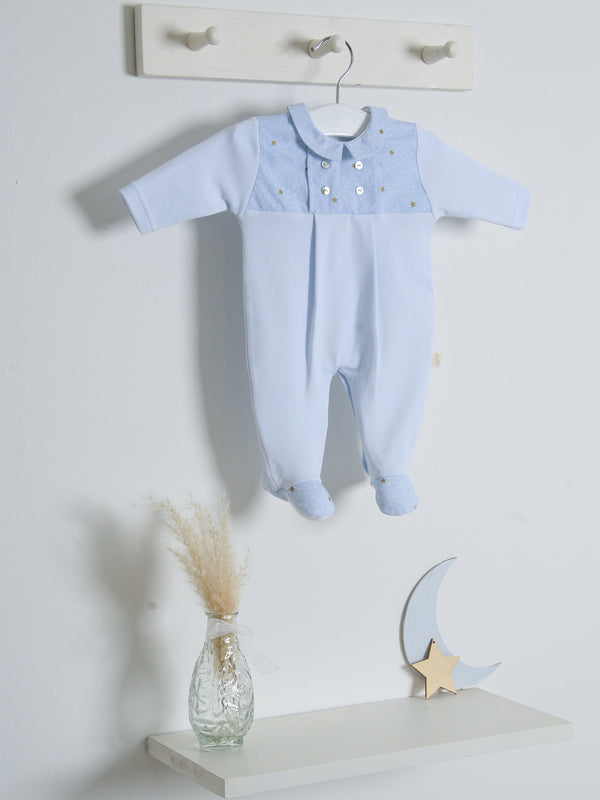 SS21 Babygi Dreams Blue Sleepsuit