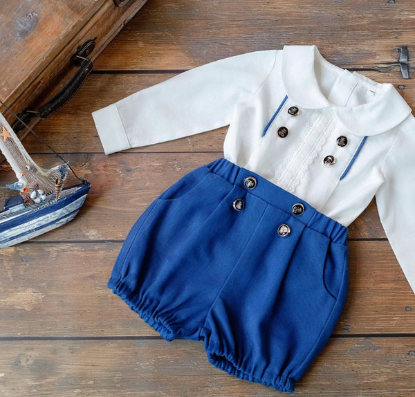 Ruben shirt and shorts set