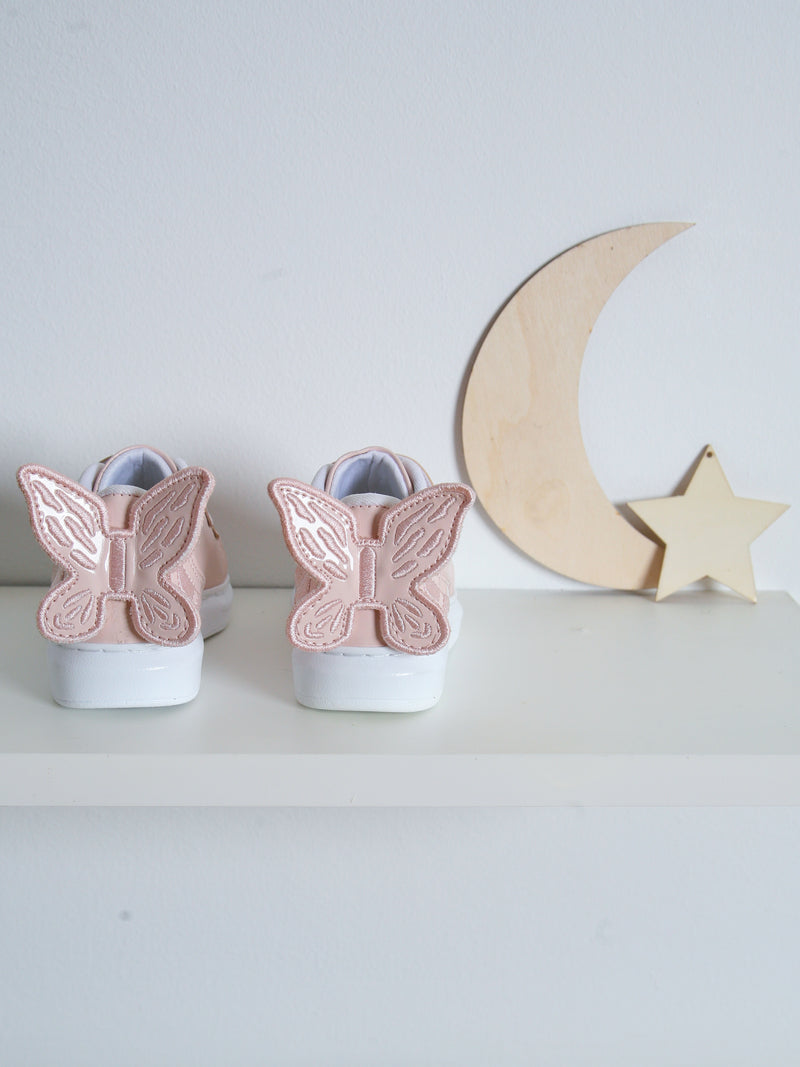 SS21 Caramelo Kids butterfly trainer - pink