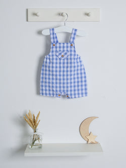 SS21 Mac Ilusion Gingham Dungaree