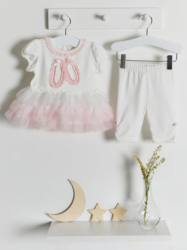 Mintini tutu top & legging set - Rose & Albert