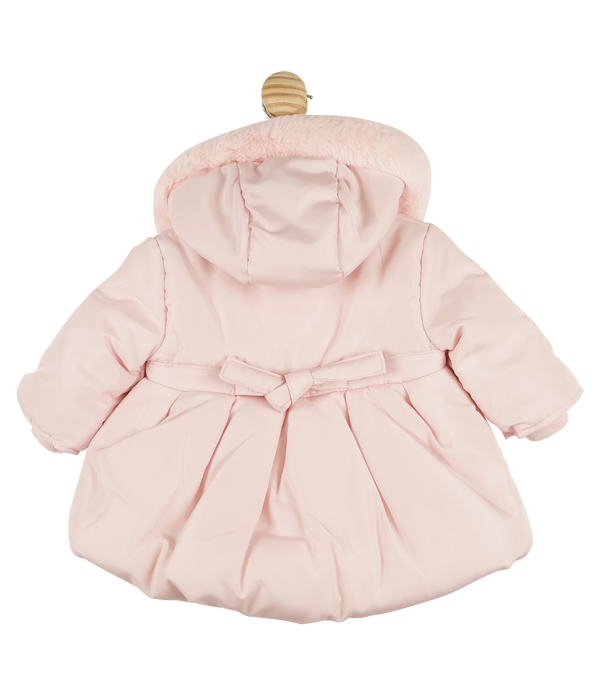 Mintini bubble padded hooded coat - pink pre order