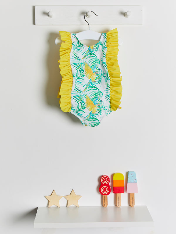 Meia Pata Martinica Parrots Swimsuit - Rose & Albert