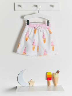 Meia Pata Ice Cream Swim Shorts - Rose & Albert