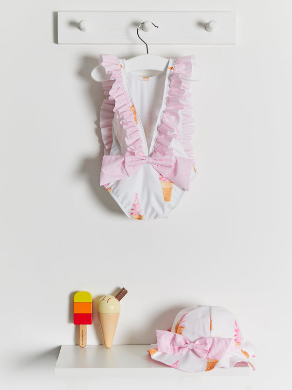 Meia Pata Martinica Ice Cream Swimsuit - Rose & Albert