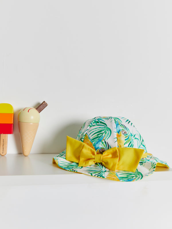 Meia Pata Parrot Reversible Sun Hat - Rose & Albert