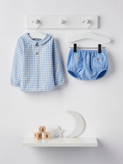 Babidu check jam pant set - Rose & Albert