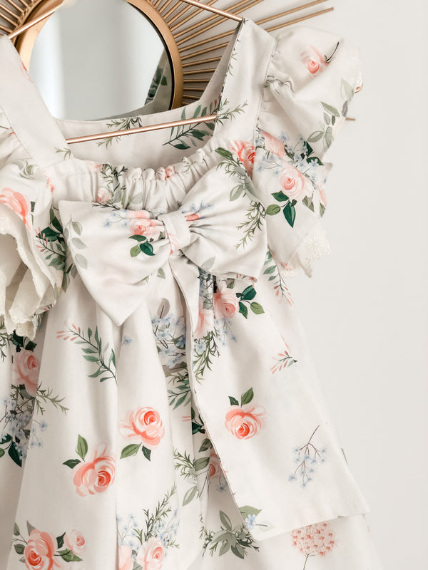 SS21 Fofettes Floral Bow Back Dress