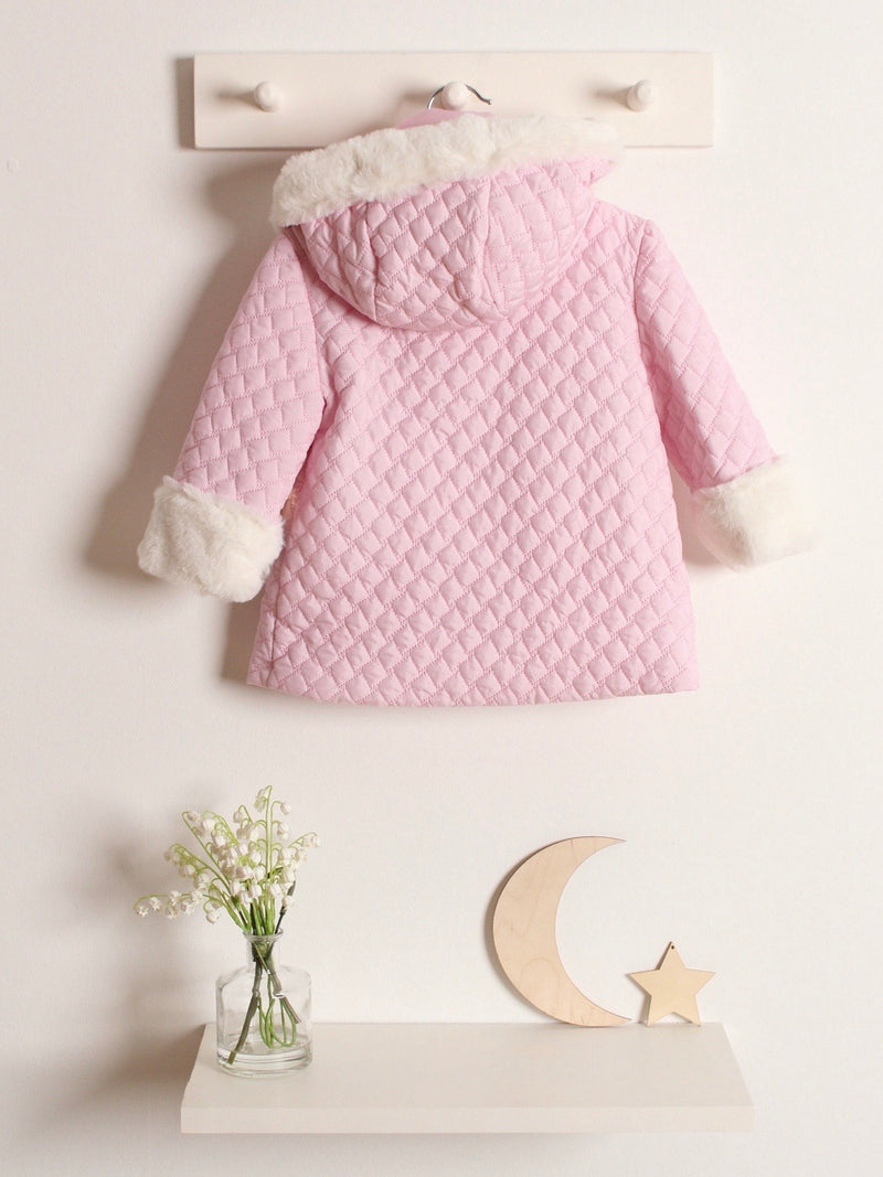Yoedu quilted hooded Coat