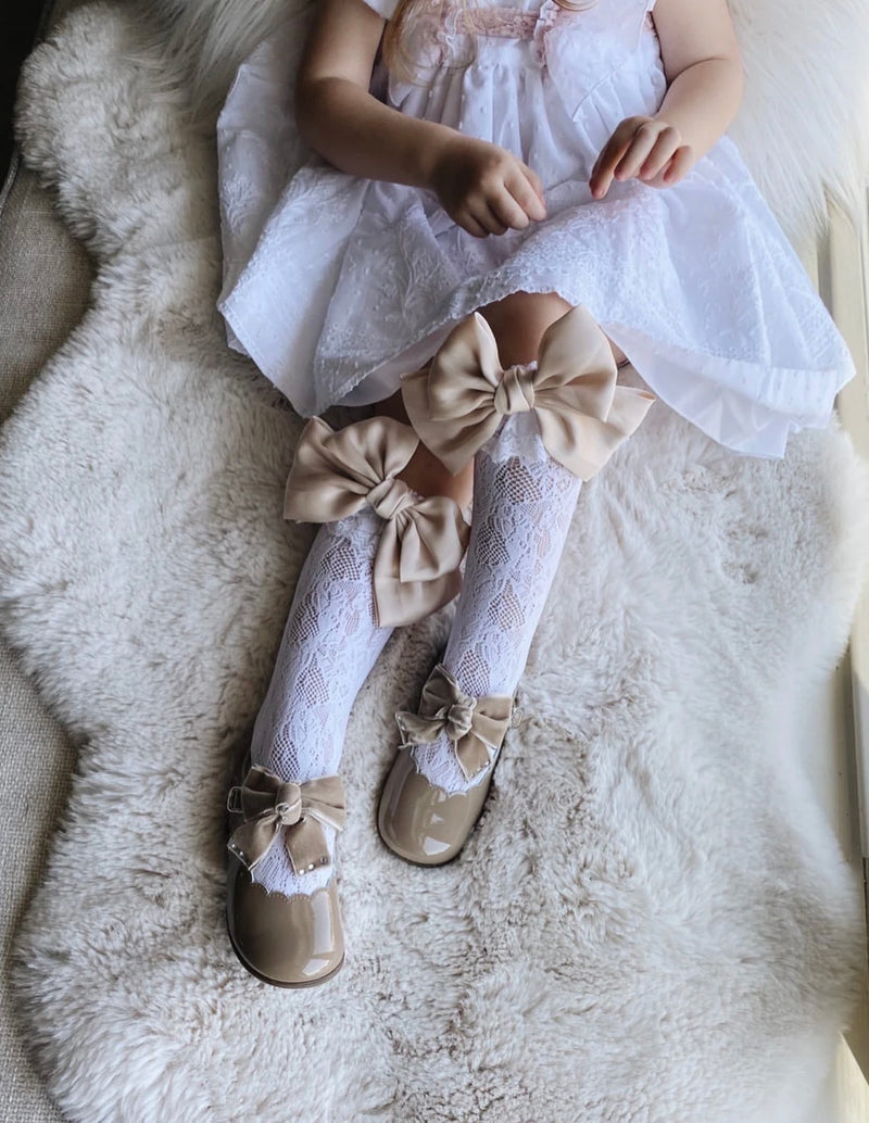 Petite Maison Kids Lola Lace socks with satin bows - 8 colours