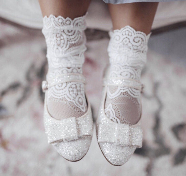 Petit Maison Kids Alice Lace Socks - Rose & Albert