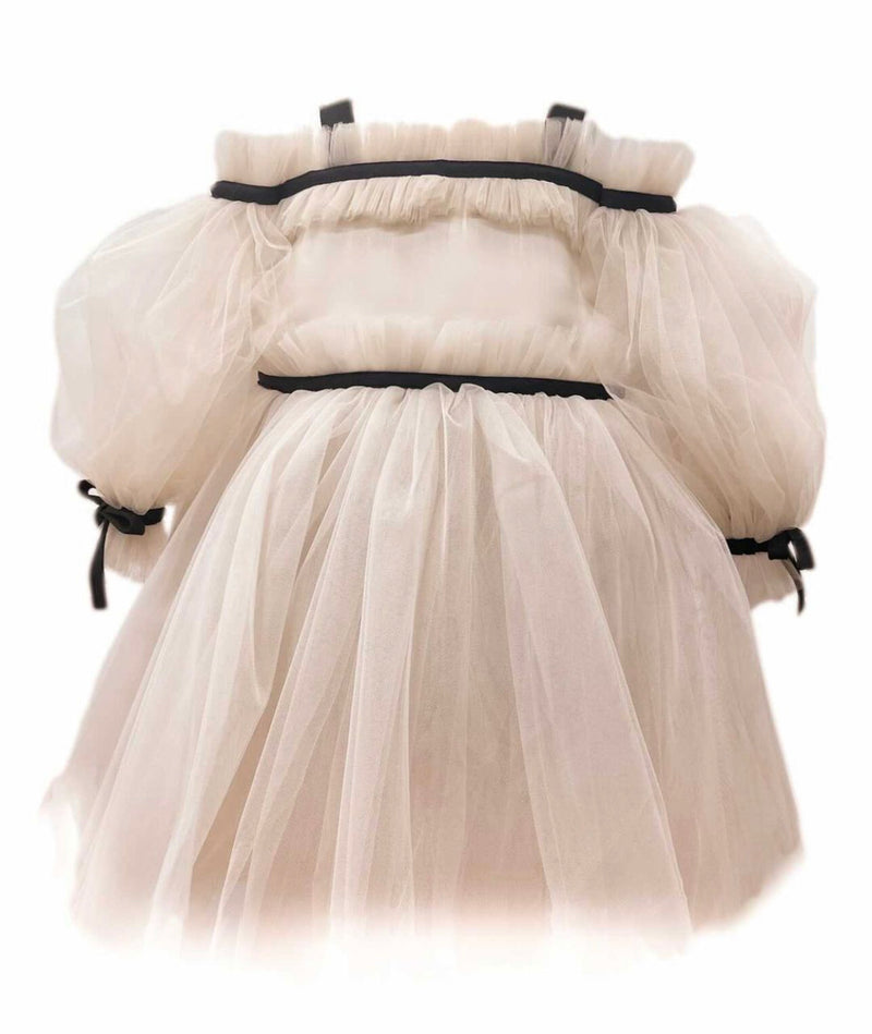 NEW Petite Maison Kids Coco Caramel Tulle Dress - Pre Order