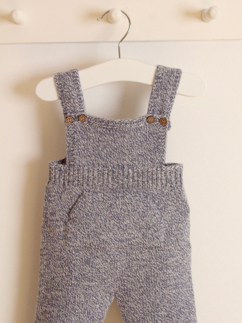 Wedoble cashmere knitted dungarees