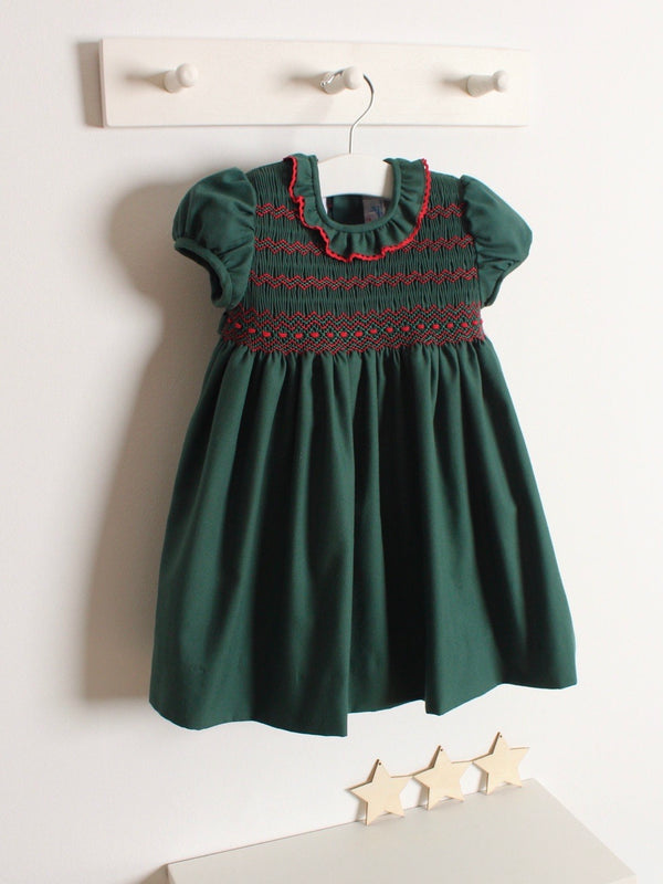 Rose and Albert classic hand smocked dress
