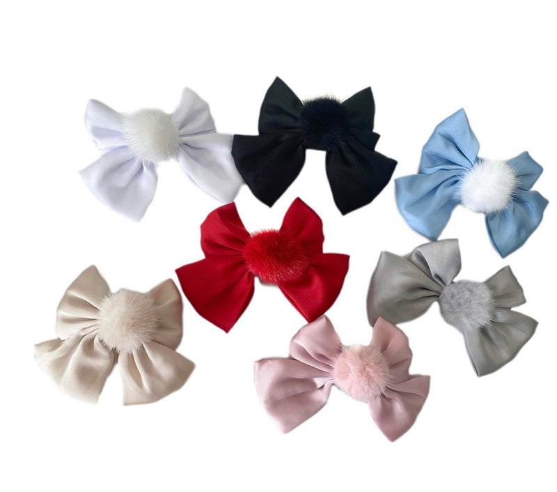 Petit Maison Kids Lana Ruffle Bow - 7 colours