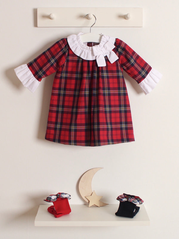 Babidu tartan dress
