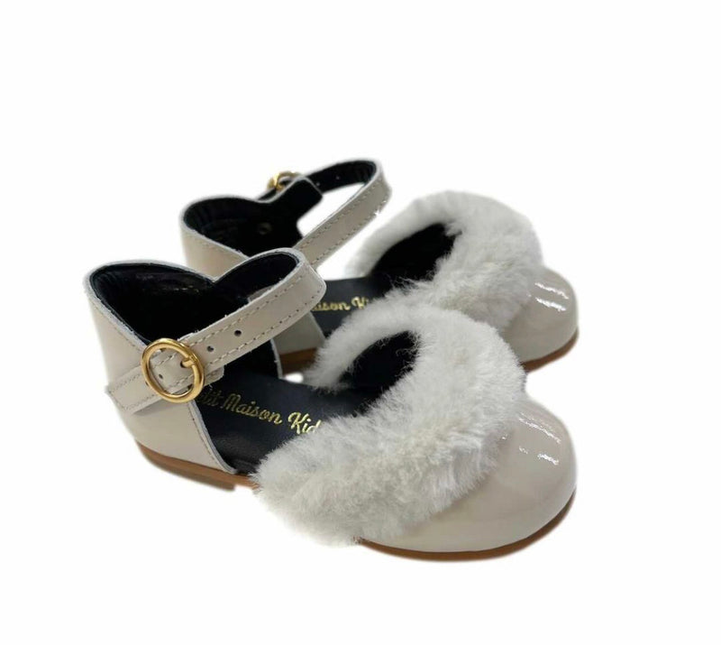 NEW Petite Maison Kids Shirley Patent Leather Sandals - Pre Order