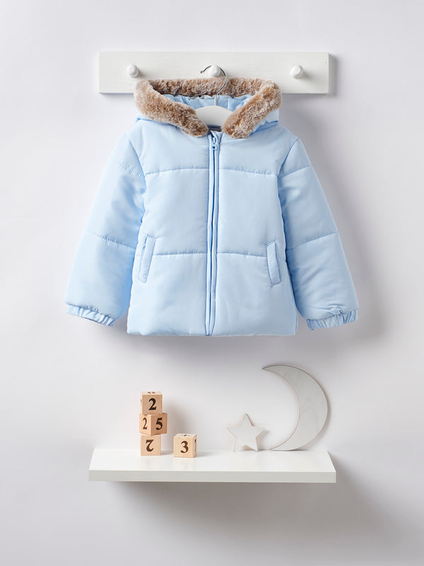 Mintini hooded padded coat - Rose & Albert