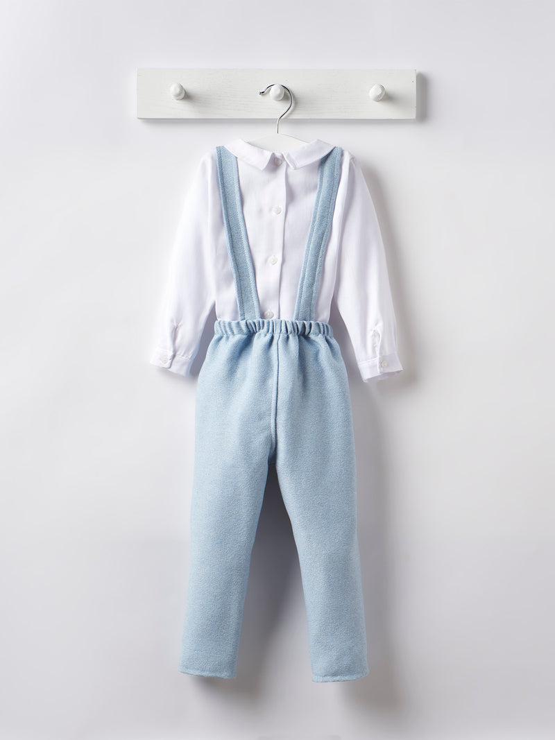 Babidu shirt & dungaree set - Rose & Albert