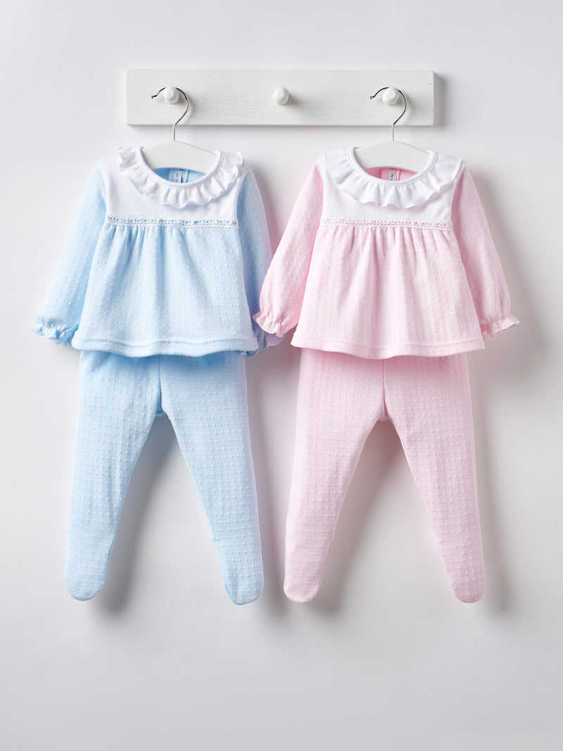 Calamaro frill top & legging set - Rose & Albert