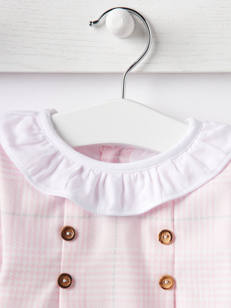 Babidu check dress - Rose & Albert