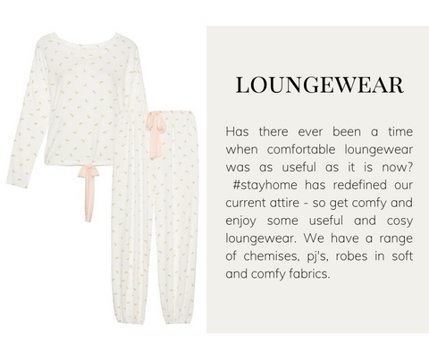 Loungewear for #stayathome