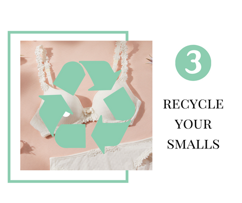 Organising you lingerie drawer, recycle your smalls