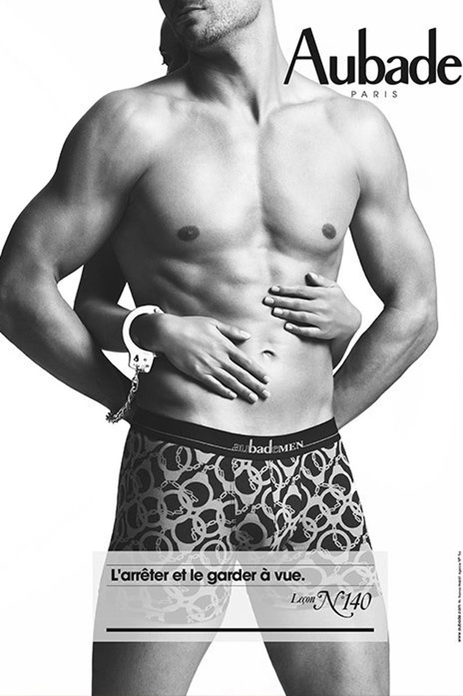 The Aubademen, sexy boxer line collection, came in 2013.