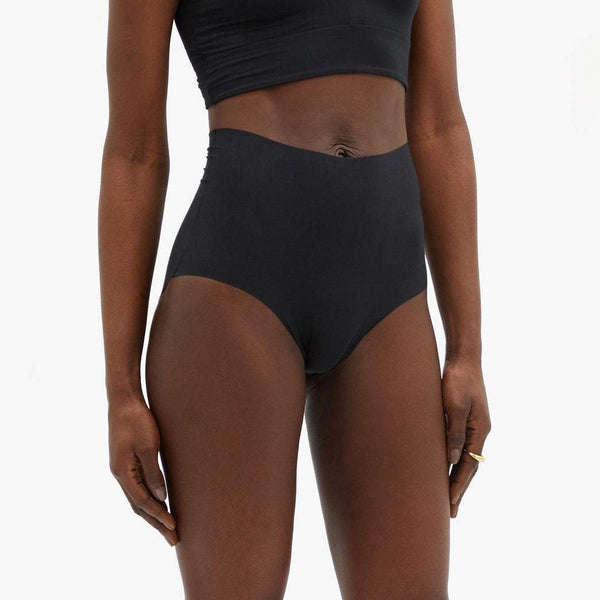 Commando seamless deep brief black. Caroline Randell.