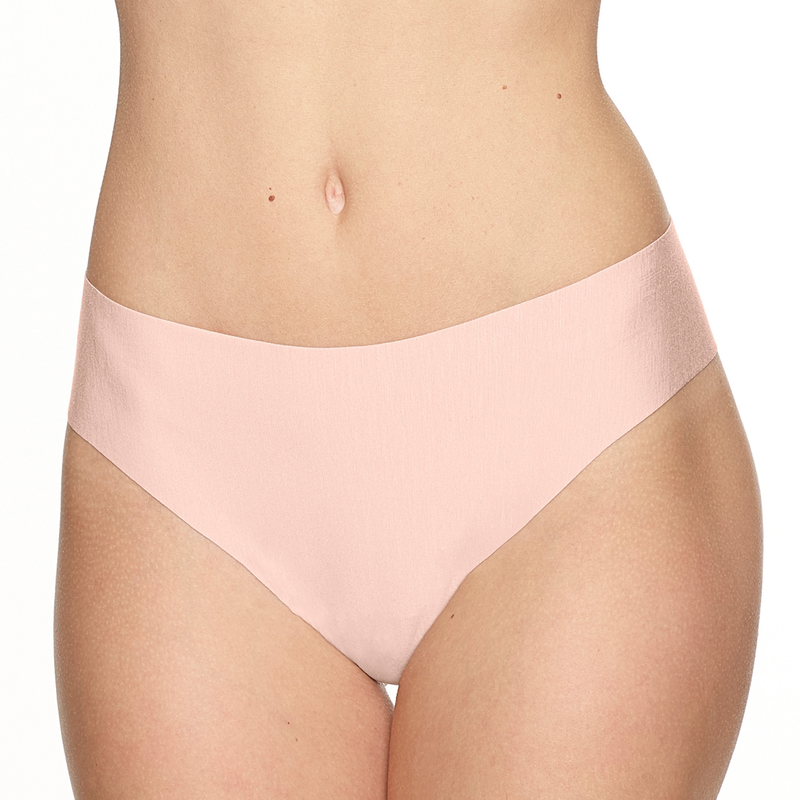 Commando Butter collection seamless thong blush pink. Caroline Randell.