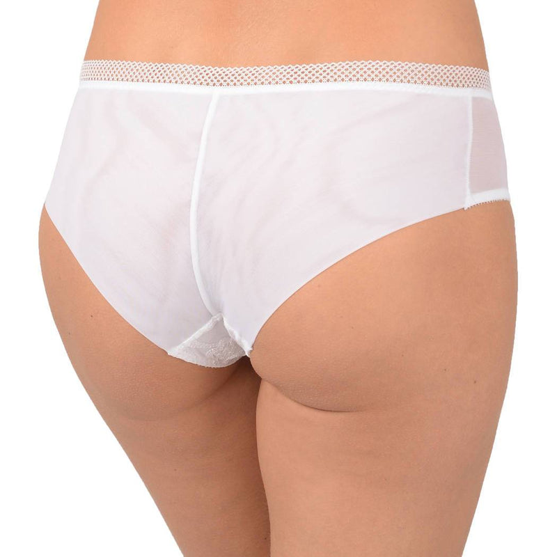 Empreinte, Stella, shorty, boyshorts, french knickers, white, Caroline Randell.