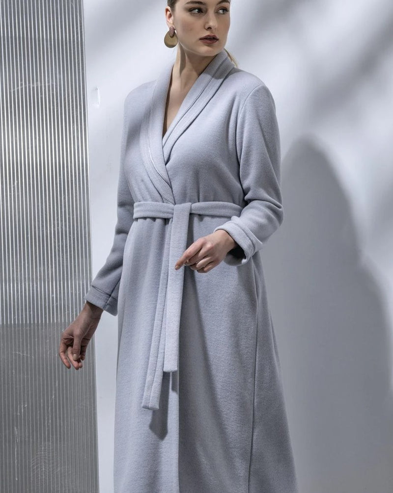 Fleece Ice Grey Robe