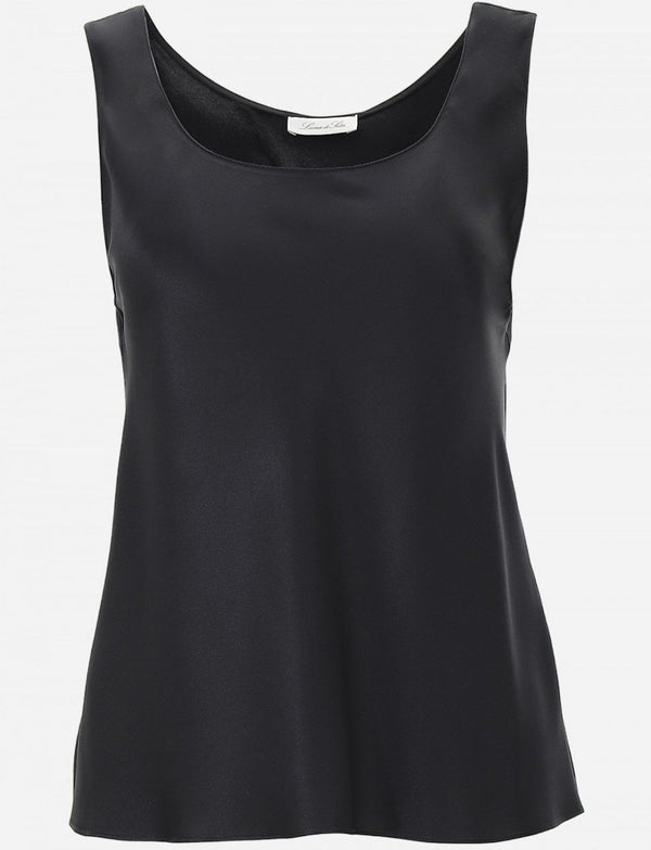 Luna Silk Tank Top