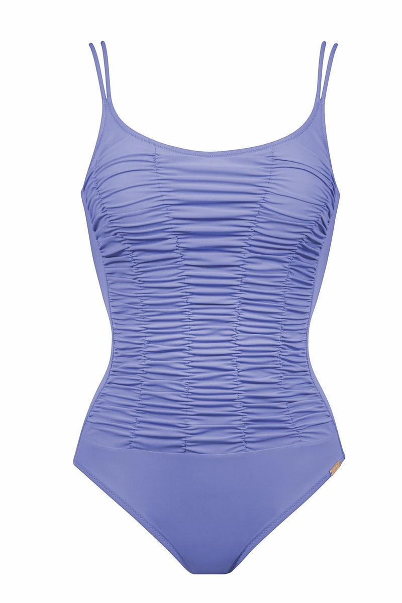 Maryan Mehlhorn, underwired, swimsuit, one piece, lilac, sky, Caroline Randell.