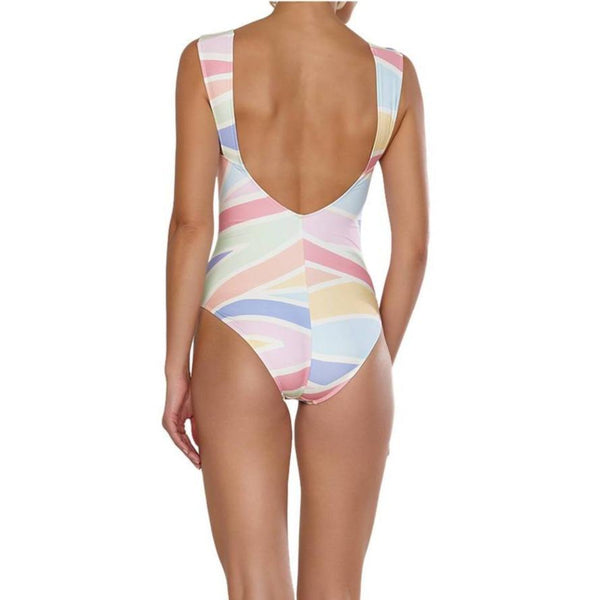 Joy wide strap swimsuit