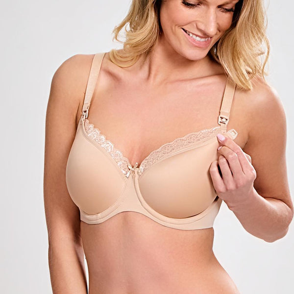 Eleanor spacer nursing bra